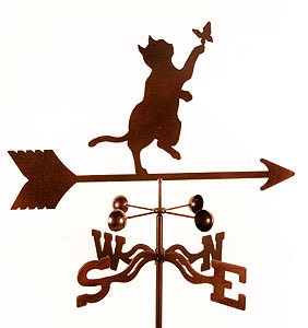 Tabby Cat Weathervane