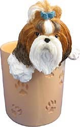 Shih Tzu Pencil Holder