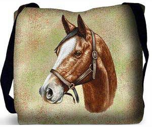 Thoroughbred Horse Tote Bag