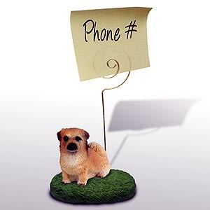 Tibetan Spaniel Note Holder