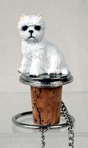 West Highland Terrier Bottle Stopper