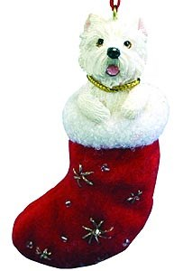 West Highland Terrier Ornament
