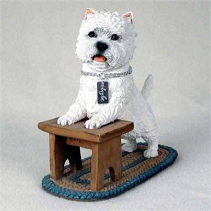 West Highland Terrier Figurine MyDog
