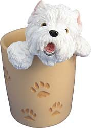 West Highland Terrier Pencil Holder