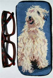 Wheaten Terrier Eyeglass Case