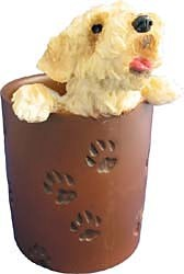 Wheaten Terrier Pencil Holder