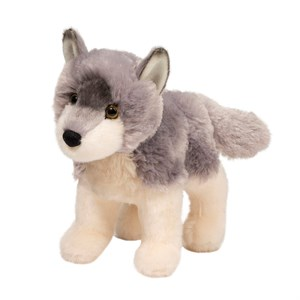 Wolf Plush Stuffed Animal 7 Inch