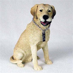 Yellow Lab Figurine MyDog