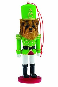 Yorkie Ornament Nutcracker