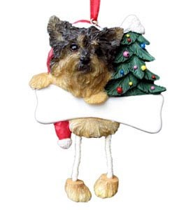 Yorkie Ornament (Puppy Cut)