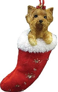 Yorkshire Terrier Ornament (Puppy Cut)